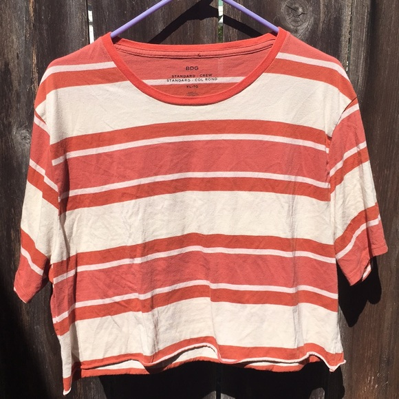 BDG Tops - BDG loose fitting striped tee